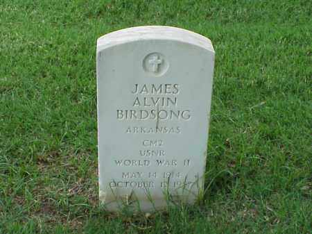BIRDSONG (VETERAN WWII), JAMES ALVIN - Pulaski County, Arkansas | JAMES ALVIN BIRDSONG (VETERAN WWII) - Arkansas Gravestone Photos
