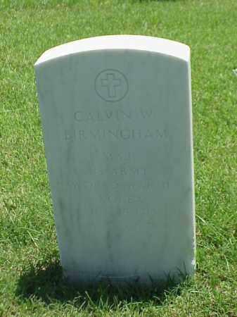 BIRMINGHAM (VETERAN 2 WARS), CALVIN W - Pulaski County, Arkansas | CALVIN W BIRMINGHAM (VETERAN 2 WARS) - Arkansas Gravestone Photos