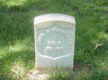 BIRMINGHAM (VETERAN UNION), JOHN - Pulaski County, Arkansas | JOHN BIRMINGHAM (VETERAN UNION) - Arkansas Gravestone Photos