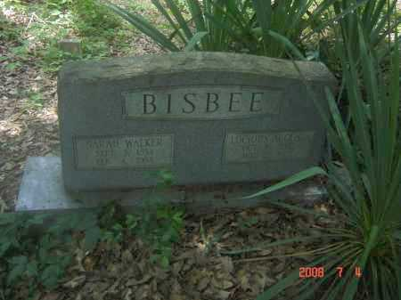 WALKER BISBEE, SARAH C. - Pulaski County, Arkansas | SARAH C. WALKER BISBEE - Arkansas Gravestone Photos