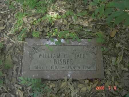 BISBEE, WILLIAM C. 'JACK' - Pulaski County, Arkansas | WILLIAM C. 'JACK' BISBEE - Arkansas Gravestone Photos