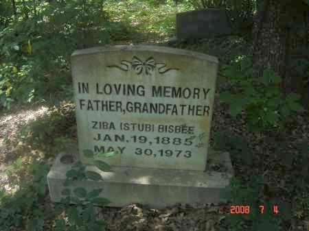 BISBEE, ZIBA 'STUB' - Pulaski County, Arkansas | ZIBA 'STUB' BISBEE - Arkansas Gravestone Photos