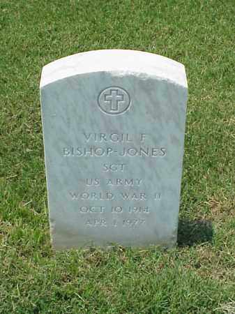 BISHOP-JONES (VETERAN WWII), VIRGIL F - Pulaski County, Arkansas | VIRGIL F BISHOP-JONES (VETERAN WWII) - Arkansas Gravestone Photos