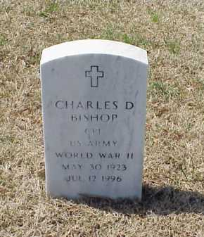 BISHOP (VETERAN WWII), CHARLES D - Pulaski County, Arkansas | CHARLES D BISHOP (VETERAN WWII) - Arkansas Gravestone Photos
