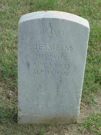 BISSELL, JESSIE M - Pulaski County, Arkansas | JESSIE M BISSELL - Arkansas Gravestone Photos