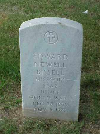 BISSELL (VETERAN WWI), EDWARD NEWELL - Pulaski County, Arkansas | EDWARD NEWELL BISSELL (VETERAN WWI) - Arkansas Gravestone Photos