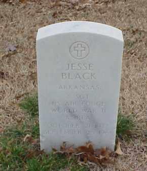 BLACK  (VETERAN 2 WARS), JESSE - Pulaski County, Arkansas   JESSE BLACK  (VETERAN 2 WARS) - Arkansas Gravestone Photos