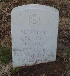 BLACK  (VETERAN WWI), FLOYD D - Pulaski County, Arkansas | FLOYD D BLACK  (VETERAN WWI) - Arkansas Gravestone Photos