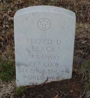 BLACK  (VETERAN WWI), FLOYD D - Pulaski County, Arkansas | FLOYD D BLACK  (VETERAN WWI) - Arkansas Gravestone Photos