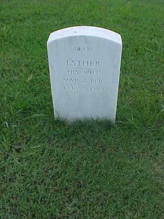 BLACK, ESTHER - Pulaski County, Arkansas | ESTHER BLACK - Arkansas Gravestone Photos