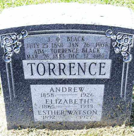 TORRENCE, ANDREW - Pulaski County, Arkansas | ANDREW TORRENCE - Arkansas Gravestone Photos