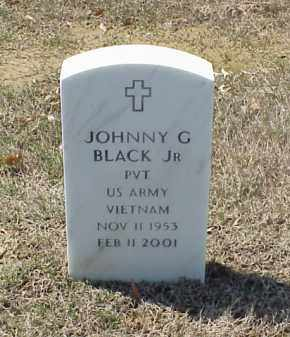 BLACK, JR (VETERAN VIET), JOHNNY G - Pulaski County, Arkansas | JOHNNY G BLACK, JR (VETERAN VIET) - Arkansas Gravestone Photos
