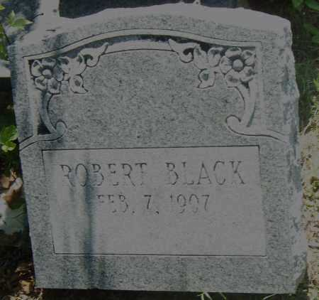 BLACK, ROBERT - Pulaski County, Arkansas | ROBERT BLACK - Arkansas Gravestone Photos