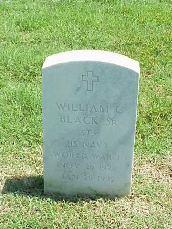 BLACK, SR (VETERAN WWII), WILLIAM C - Pulaski County, Arkansas | WILLIAM C BLACK, SR (VETERAN WWII) - Arkansas Gravestone Photos