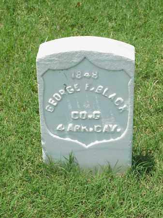 BLACK (VETERAN UNION), GEORGE F - Pulaski County, Arkansas | GEORGE F BLACK (VETERAN UNION) - Arkansas Gravestone Photos