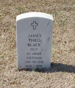 BLACK (VETERAN VIET), JAMES THEO - Pulaski County, Arkansas   JAMES THEO BLACK (VETERAN VIET) - Arkansas Gravestone Photos