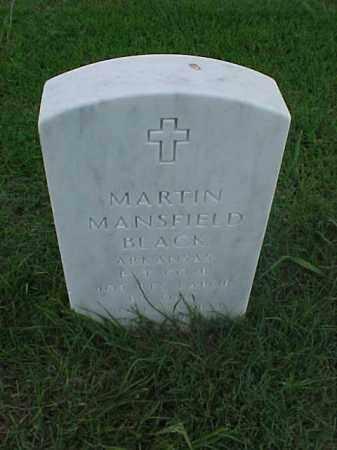 BLACK (VETERAN WWI), MARTIN MANSFIELD - Pulaski County, Arkansas   MARTIN MANSFIELD BLACK (VETERAN WWI) - Arkansas Gravestone Photos