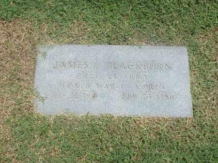 BLACKBURN VETERAN 2 WARS), JAMES H - Pulaski County, Arkansas   JAMES H BLACKBURN VETERAN 2 WARS) - Arkansas Gravestone Photos