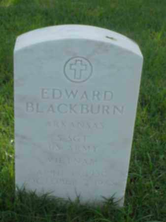 BLACKBURN (VETERAN VIET), EDWARD - Pulaski County, Arkansas | EDWARD BLACKBURN (VETERAN VIET) - Arkansas Gravestone Photos