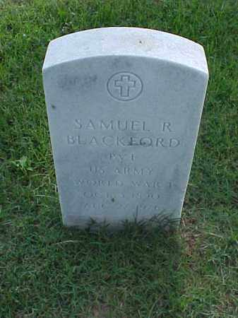 BLACKFORD (VETERAN WWI), SAMUEL R - Pulaski County, Arkansas | SAMUEL R BLACKFORD (VETERAN WWI) - Arkansas Gravestone Photos