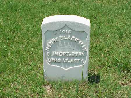 BLACKMAN (VETERAN UNION), HENRY - Pulaski County, Arkansas   HENRY BLACKMAN (VETERAN UNION) - Arkansas Gravestone Photos