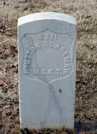 BLACKMAN (VETERAN UNION), HOUSTON - Pulaski County, Arkansas | HOUSTON BLACKMAN (VETERAN UNION) - Arkansas Gravestone Photos