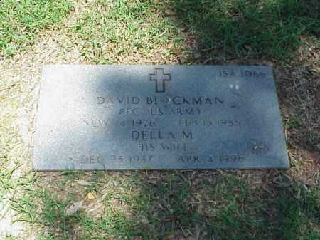 BLACKMAN (VETERAN WWII), DAVID - Pulaski County, Arkansas | DAVID BLACKMAN (VETERAN WWII) - Arkansas Gravestone Photos