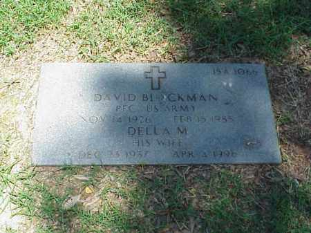 BLACKMAN, DELLA M - Pulaski County, Arkansas | DELLA M BLACKMAN - Arkansas Gravestone Photos