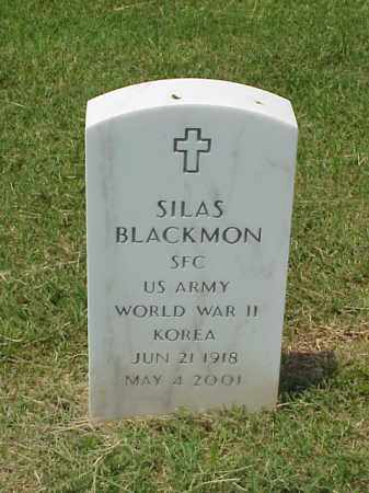BLACKMON (VETERAN 2 WARS), SILAS - Pulaski County, Arkansas | SILAS BLACKMON (VETERAN 2 WARS) - Arkansas Gravestone Photos