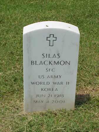 BLACKMON (VETERAN 2 WARS), SILAS - Pulaski County, Arkansas | SILAS BLACKMON (VETERAN 2 WARS) - Arkansas Gravestone Photos