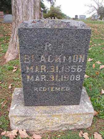 BLACKMON, R H - Pulaski County, Arkansas | R H BLACKMON - Arkansas Gravestone Photos