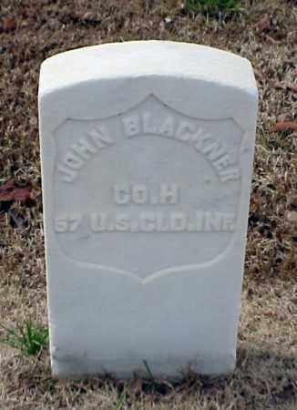 BLACKNER (VETERAN UNION), JOHN - Pulaski County, Arkansas | JOHN BLACKNER (VETERAN UNION) - Arkansas Gravestone Photos