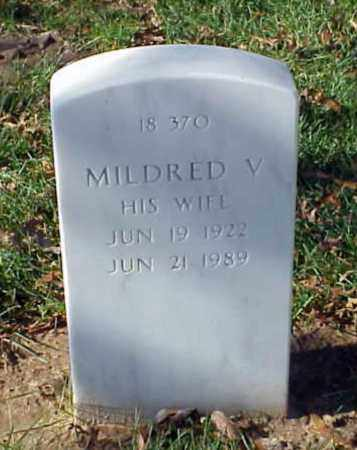 BLACKWELDER, MILDRED V - Pulaski County, Arkansas | MILDRED V BLACKWELDER - Arkansas Gravestone Photos