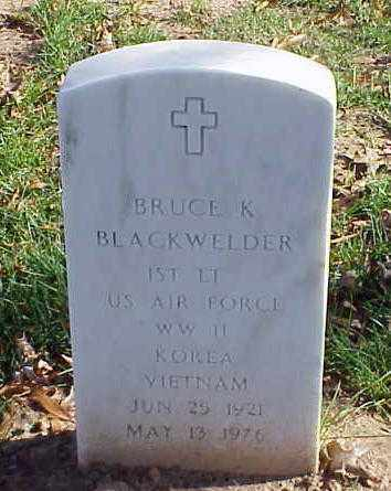 BLACKWELDER (VETERAN 3 WARS), BRUCE K - Pulaski County, Arkansas | BRUCE K BLACKWELDER (VETERAN 3 WARS) - Arkansas Gravestone Photos