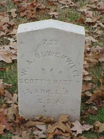 BLACKWELL (VETERAN CSA), W A - Pulaski County, Arkansas | W A BLACKWELL (VETERAN CSA) - Arkansas Gravestone Photos
