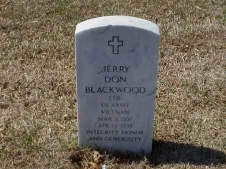 BLACKWOOD (VETERAN VIET), JERRY DON - Pulaski County, Arkansas | JERRY DON BLACKWOOD (VETERAN VIET) - Arkansas Gravestone Photos