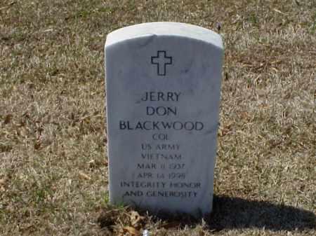BLACKWOOD (VETERAN VIET), JERRY DON - Pulaski County, Arkansas | JERRY DON BLACKWOOD (VETERAN VIET) - Arkansas Gravestone Photos