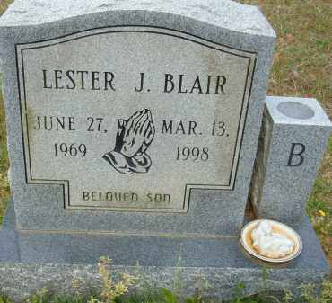 BLAIR, LESTER J. - Pulaski County, Arkansas | LESTER J. BLAIR - Arkansas Gravestone Photos
