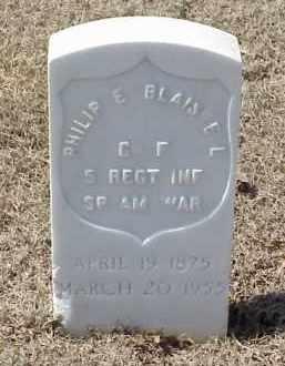 BLAISDELL  (VETERAN SAW), PHILIP E - Pulaski County, Arkansas | PHILIP E BLAISDELL  (VETERAN SAW) - Arkansas Gravestone Photos