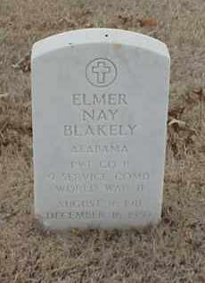 BLAKELY  (VETERAN WWII), ELMER NAY - Pulaski County, Arkansas | ELMER NAY BLAKELY  (VETERAN WWII) - Arkansas Gravestone Photos