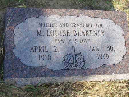 BLAKENEY, M. LOUISE - Pulaski County, Arkansas | M. LOUISE BLAKENEY - Arkansas Gravestone Photos