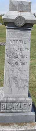BLAKLEY, BETTIE - Pulaski County, Arkansas | BETTIE BLAKLEY - Arkansas Gravestone Photos
