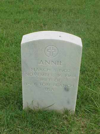 BLANCH, ANNIE - Pulaski County, Arkansas | ANNIE BLANCH - Arkansas Gravestone Photos