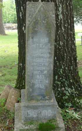 BLAND, HENRY T - Pulaski County, Arkansas | HENRY T BLAND - Arkansas Gravestone Photos