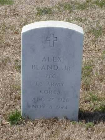 BLAND, JR (VETERAN KOR), ALEX - Pulaski County, Arkansas | ALEX BLAND, JR (VETERAN KOR) - Arkansas Gravestone Photos