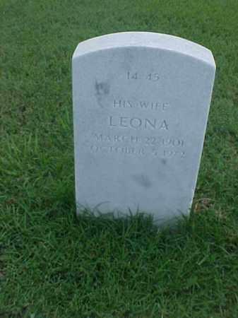 BLAND, LEONA - Pulaski County, Arkansas | LEONA BLAND - Arkansas Gravestone Photos