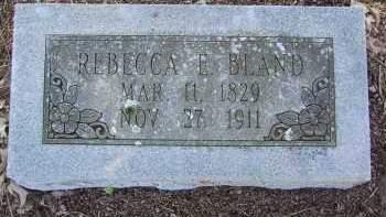 BLAND, REBECCA ELIZABETH - Pulaski County, Arkansas | REBECCA ELIZABETH BLAND - Arkansas Gravestone Photos