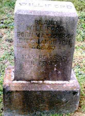 BLAND, WILLIFORD - Pulaski County, Arkansas | WILLIFORD BLAND - Arkansas Gravestone Photos