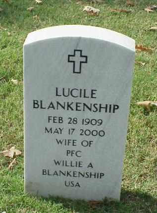 BLANKENSHIP, LUCILE - Pulaski County, Arkansas | LUCILE BLANKENSHIP - Arkansas Gravestone Photos