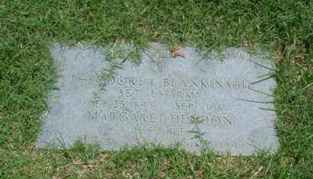 HENDON BLANKINSHIP, MARGARET - Pulaski County, Arkansas | MARGARET HENDON BLANKINSHIP - Arkansas Gravestone Photos